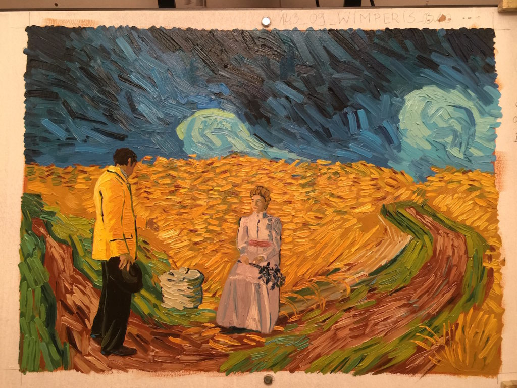 The Loving Vincent Artists Know What It Means To Paint Like Van Gogh | One Such Artist, Sarah Wimperis, sits down with Artists Network
