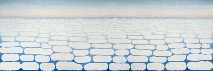 Cloud painting by Georgia O'Keeffe