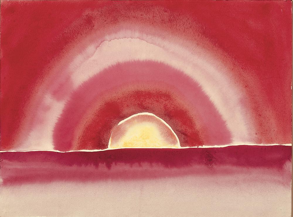 Sunrise by Georgia O'Keeffe