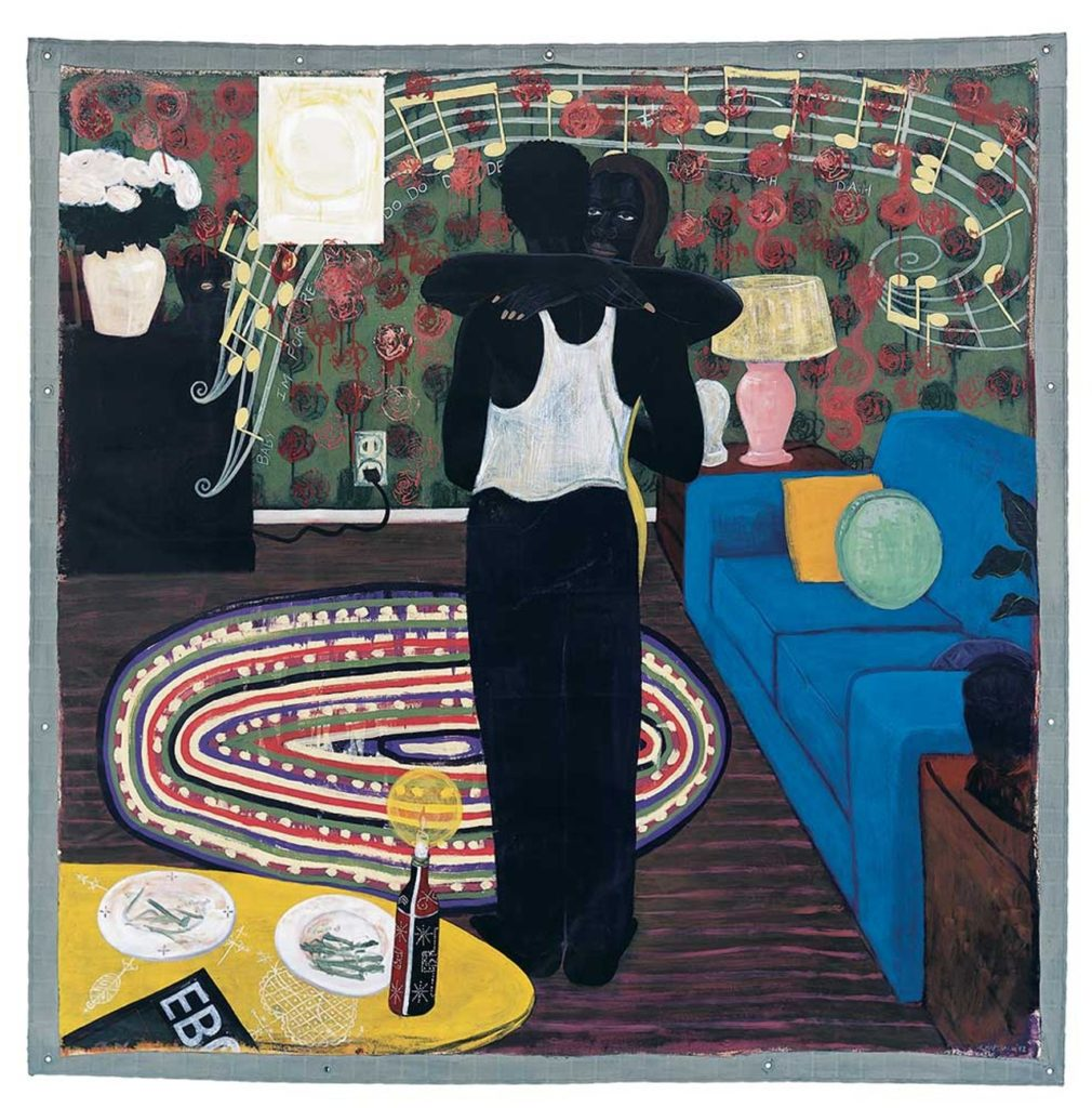 Slow Dance by Kerry James Marshall
