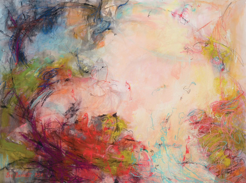 Pastel_100_category_winners_abstract_painting__Crowell_A-Passionate-Nature | artistsnetwork.com