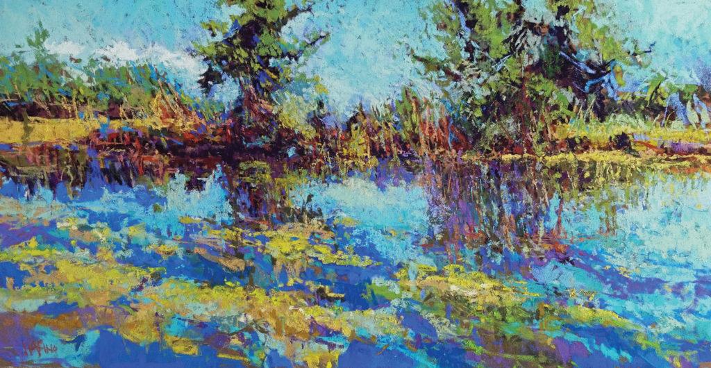 Pastel_100_category_winners_landscape_painting__Marino_Tilghman-Breeze | artistsnetwork.com