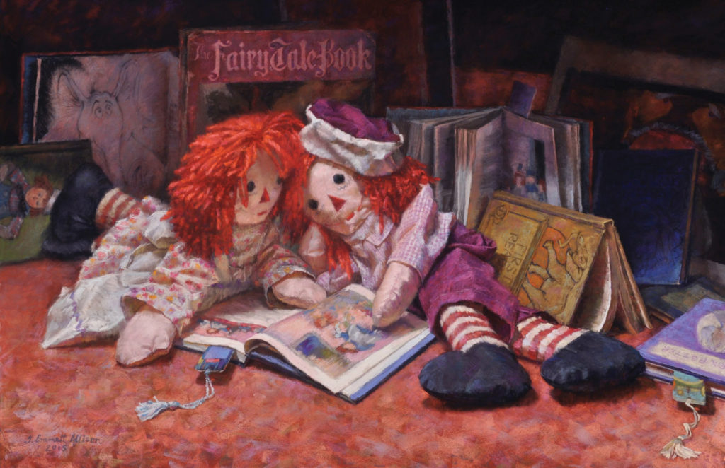 Pastel_100_category_winners_still_life_painting__Allison_Once-Upon-a-Time | artistsnetwork.com