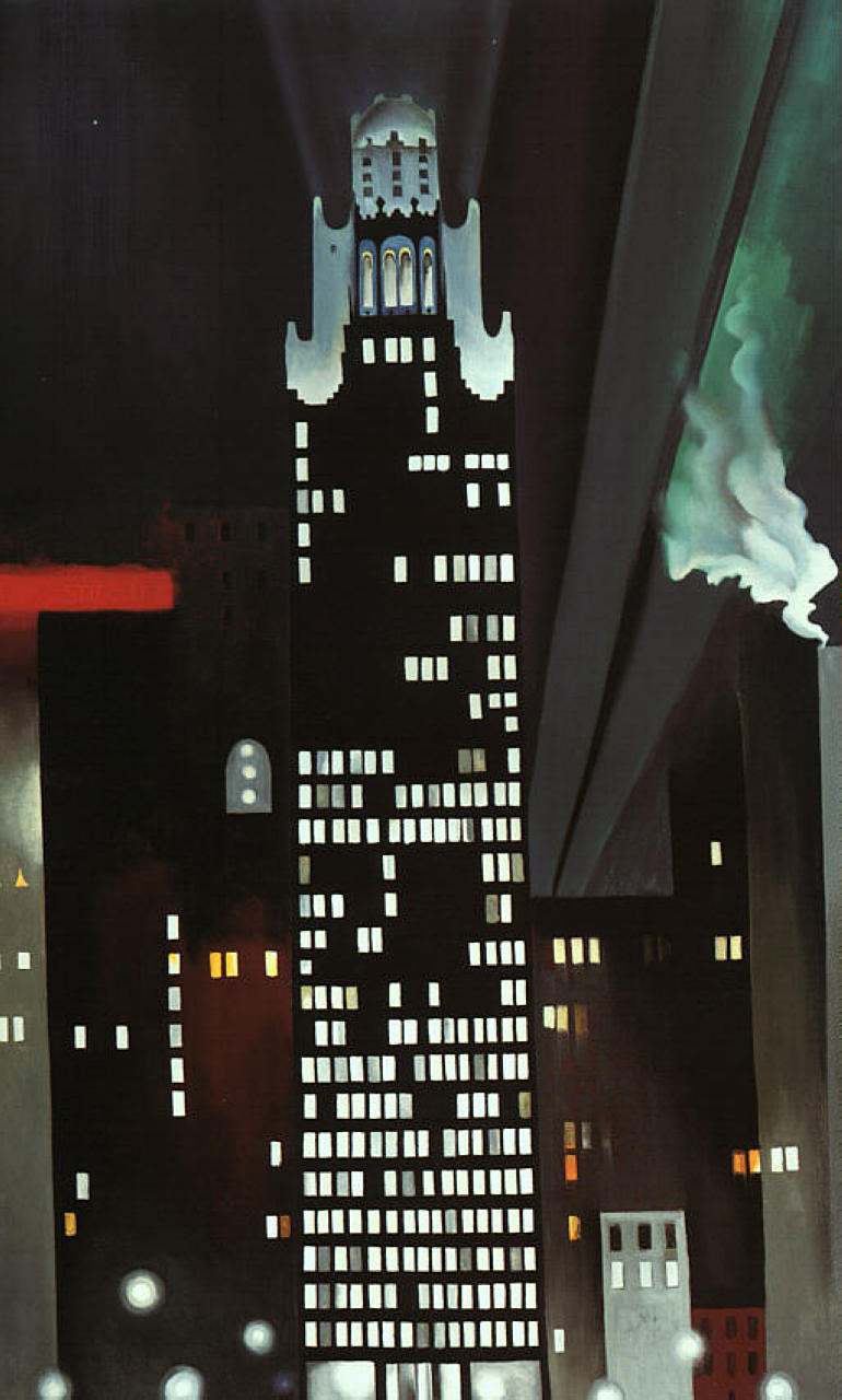 Radiator Building by Georgia O'Keeffe