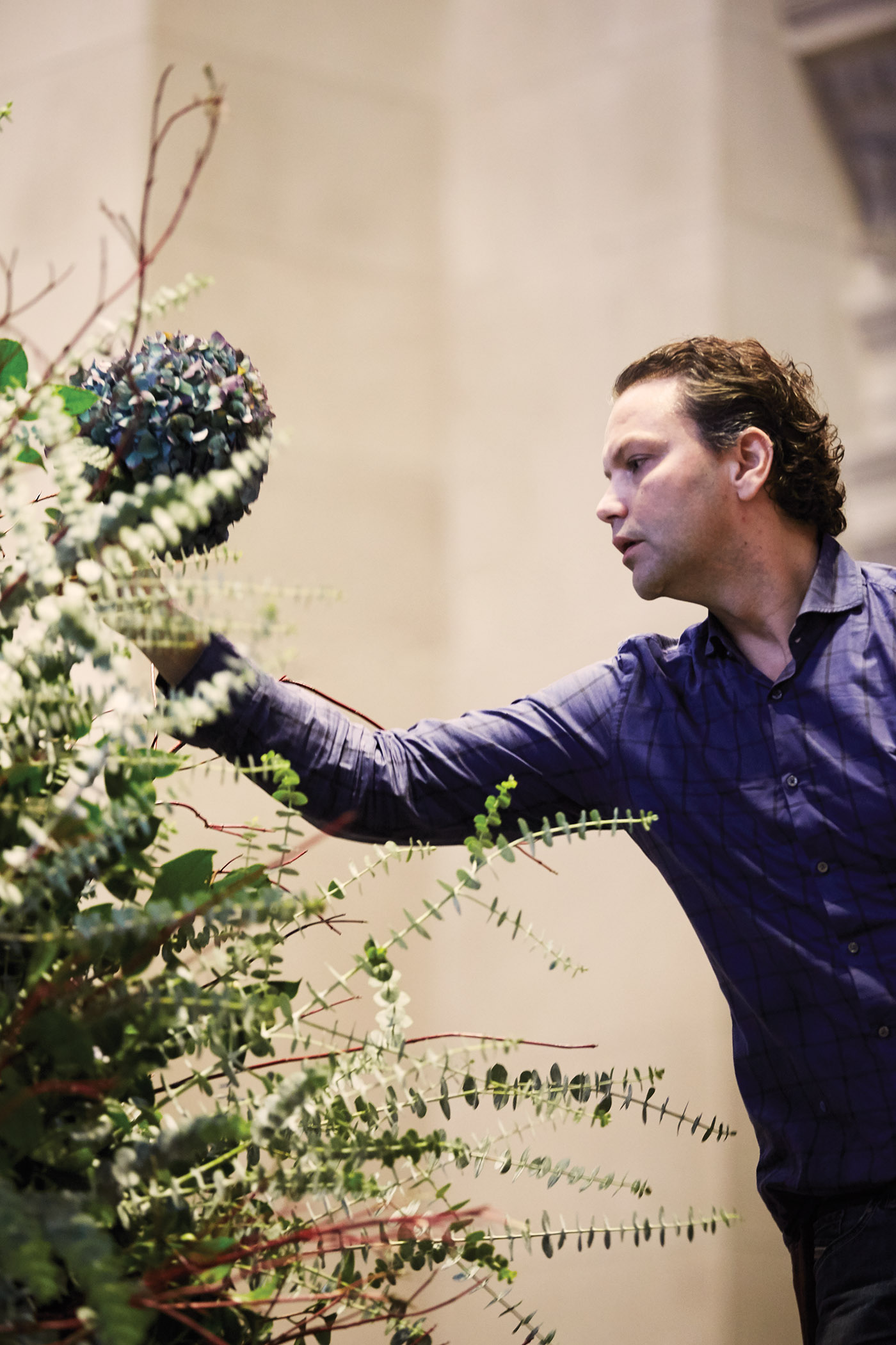 The Met Floral Displays | Florist Remco van Vliet | Artists Magazine | Artists Network