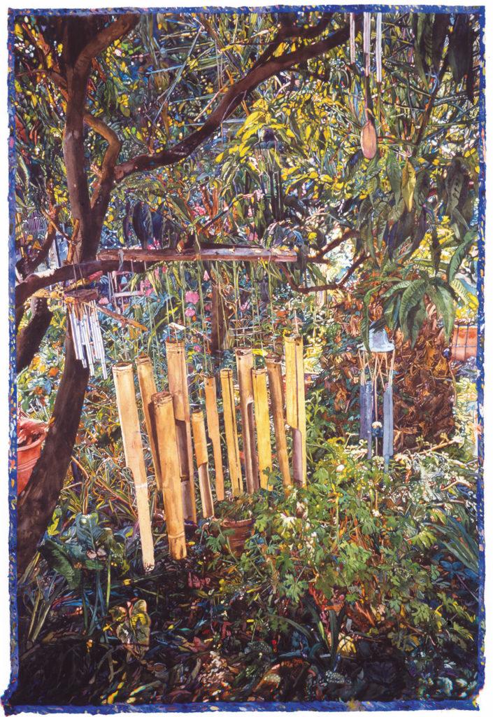 9. Wind Song by Joseph Raffael | 25 Watermedia Paintings by 25 Top Artists