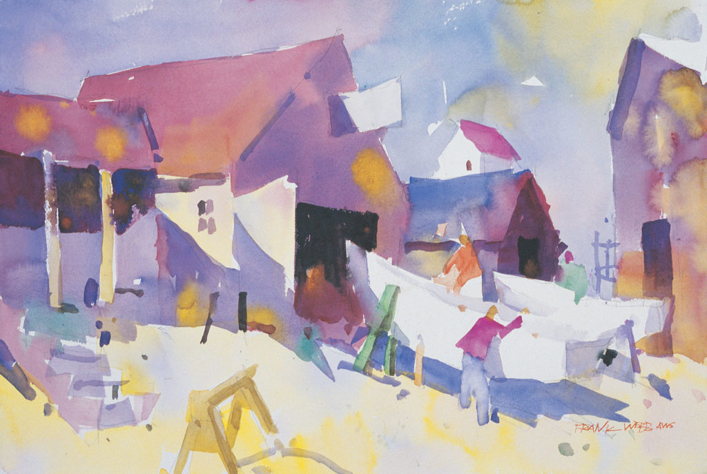 1. Bideford by Frank Webb | 25 watermedia paintings by 25 top artists, brought to you by Watercolor Artist and Artists Network