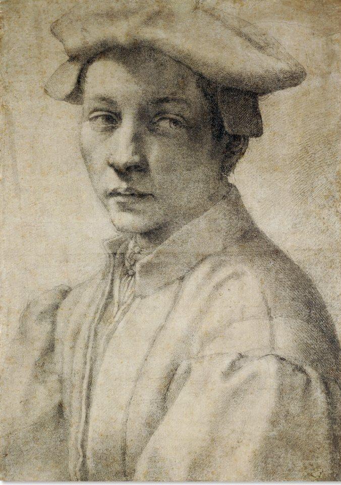Portrait of Andrea Quaratesi by Michelangelo Buonarroti, 1530