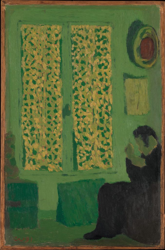 The Green Interior by Édouard Vuillard, 1891