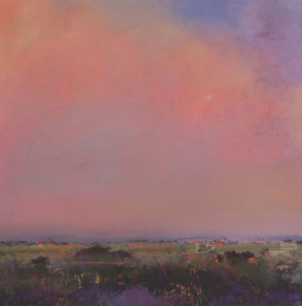 Overlook by Eve Miller; the artist has continued to build her artist resume by participating in juried shows, including the 2018 Catharine Lorillard Wolfe Art Club's 121st Annual Open Juried Exhibition | Pastel Journal, Artists Network