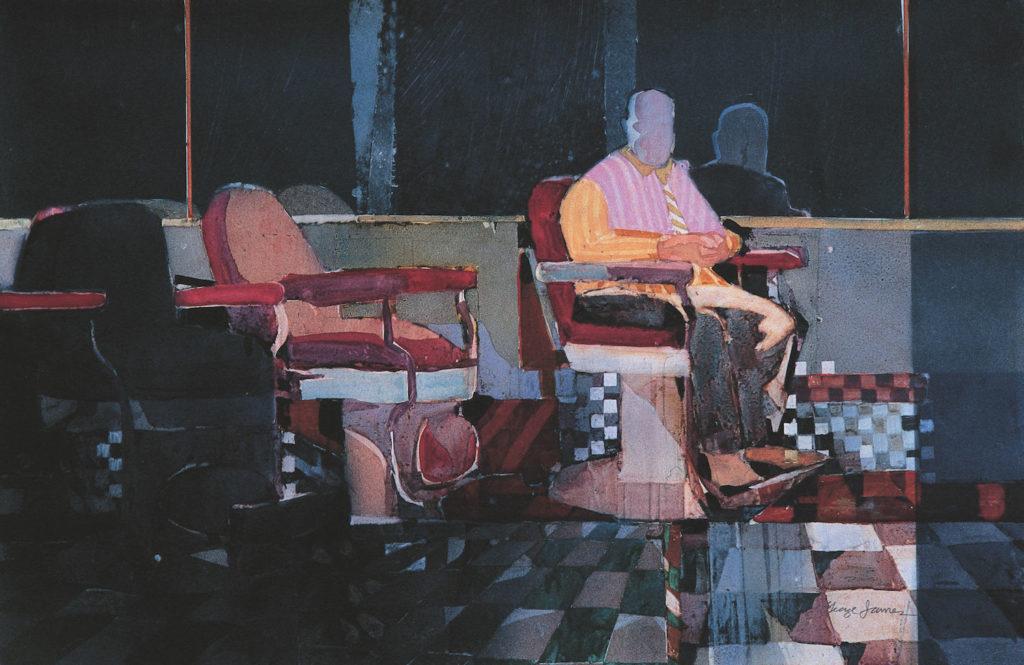 19. In Shine Mirror by George James | 25 watermedia paintings by 25 top artists