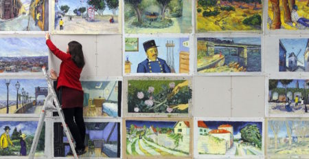 Loving Vincent Artists on Set | Artists Network