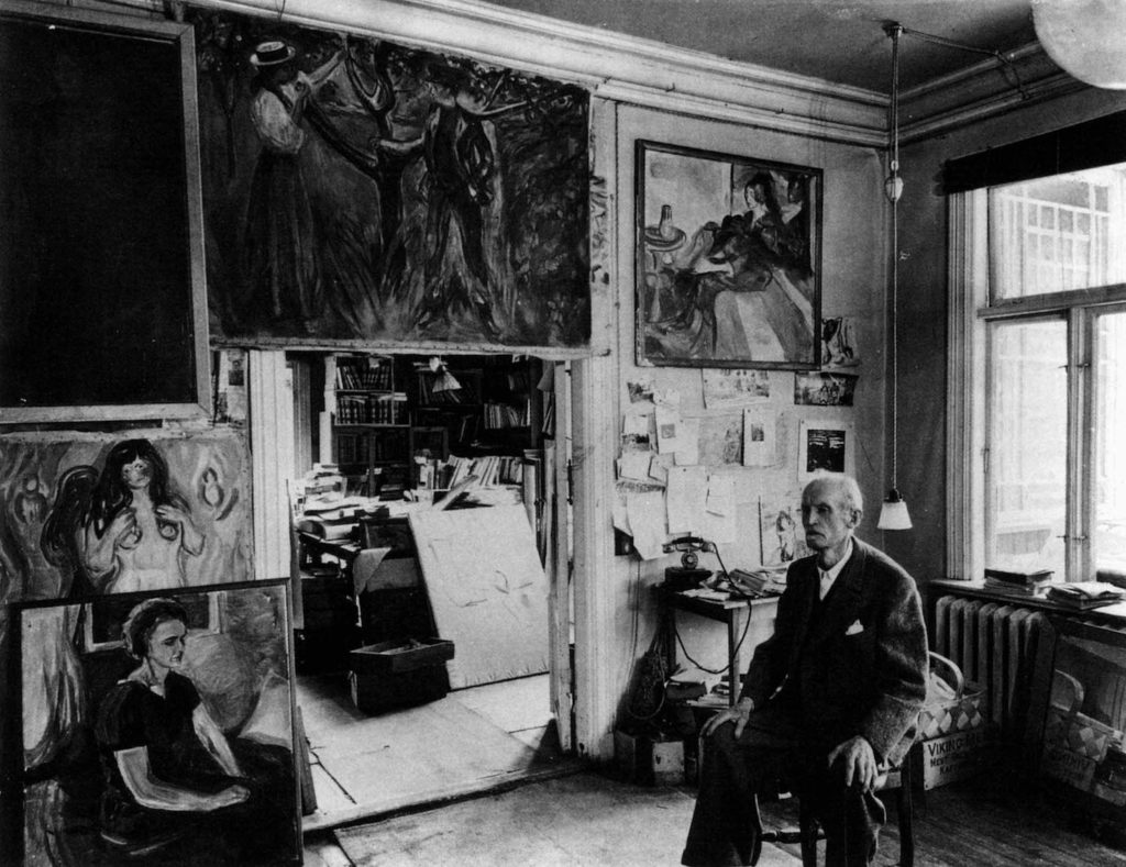 Photo Edvard Munch | Edvard Munch | How Isolation, Loss and Anxiety Fueled his Art, article by Jerry N. Weiss for Artists Magazine