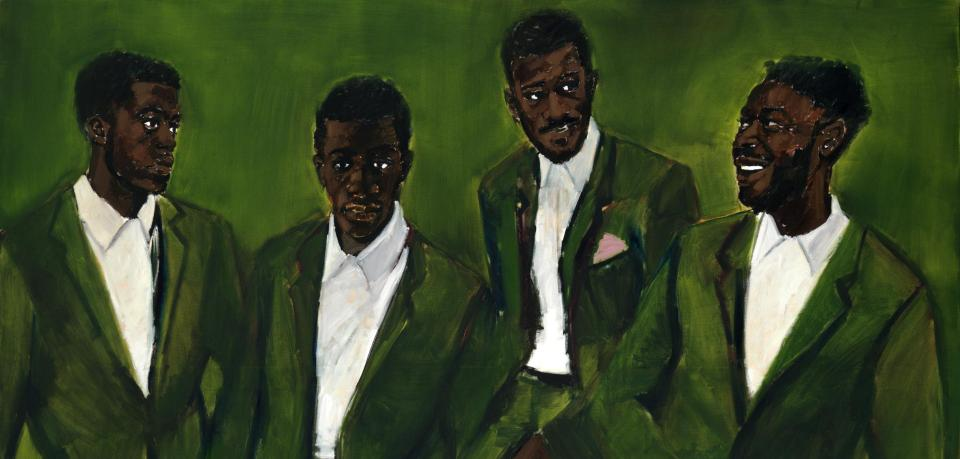 A Culmination by Lynette Yiadom-Boakye, 2016