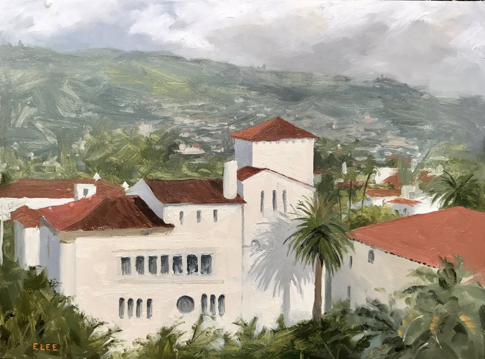 Santa Barbara Courthouse by Emilie Lee