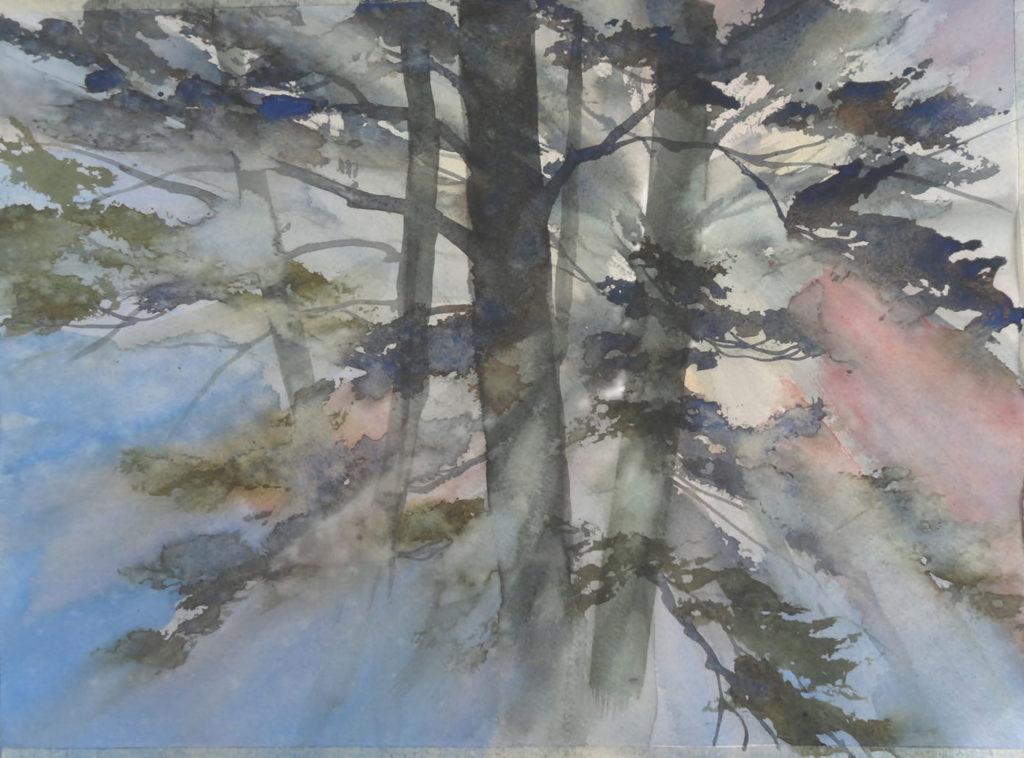 Morning Light, Kegos by Gordon MacKenzie, watercolor