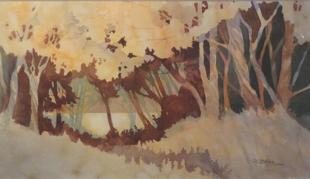 Autumn Passage by Gordon MacKenzie, watercolor