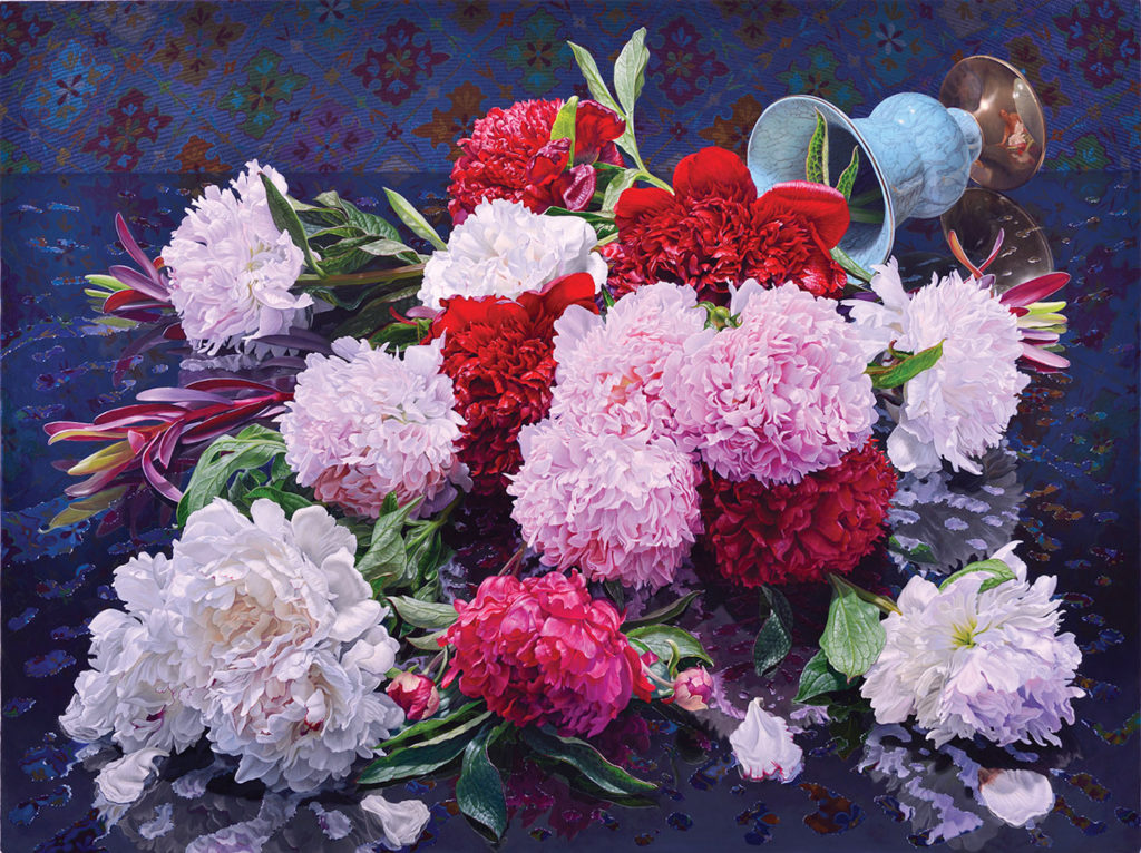 Peonies by Eric Wert | Floral Art Prompts and Tips | Artists Network