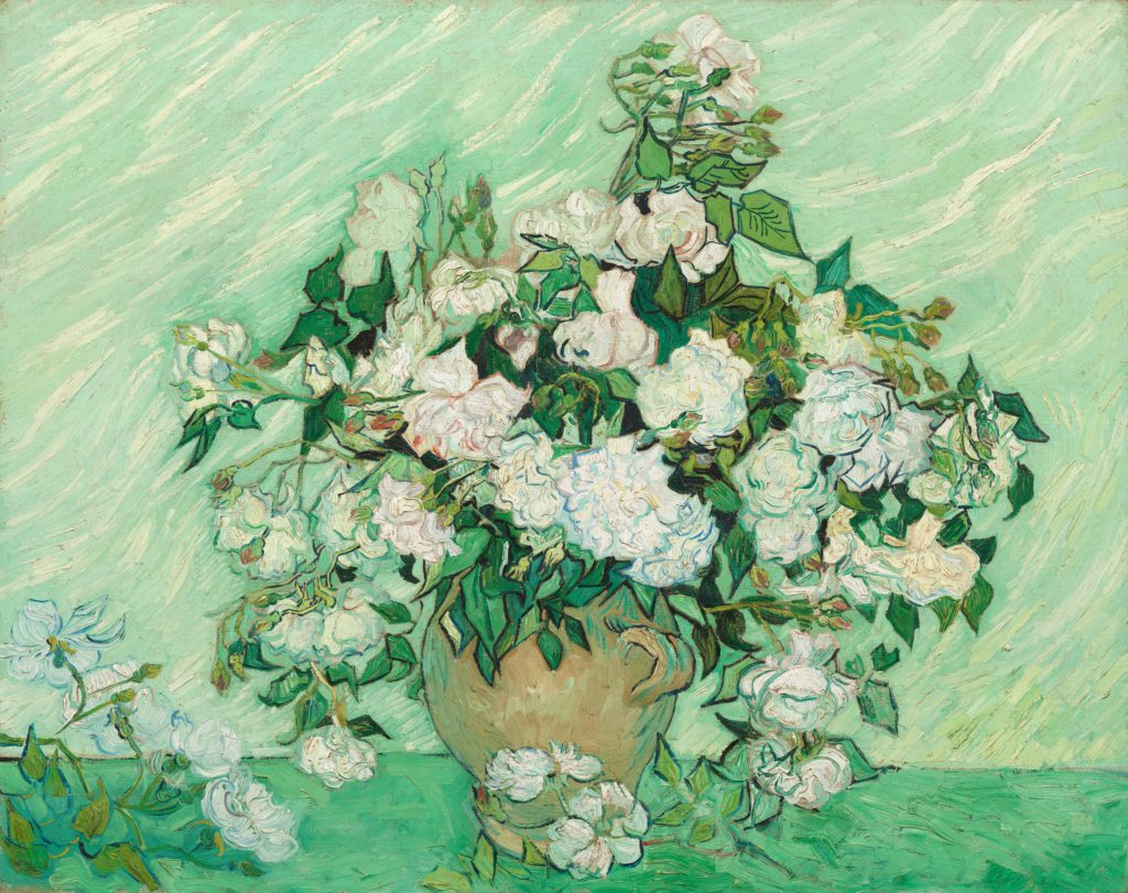 Roses by Vincent van Gogh, 1890