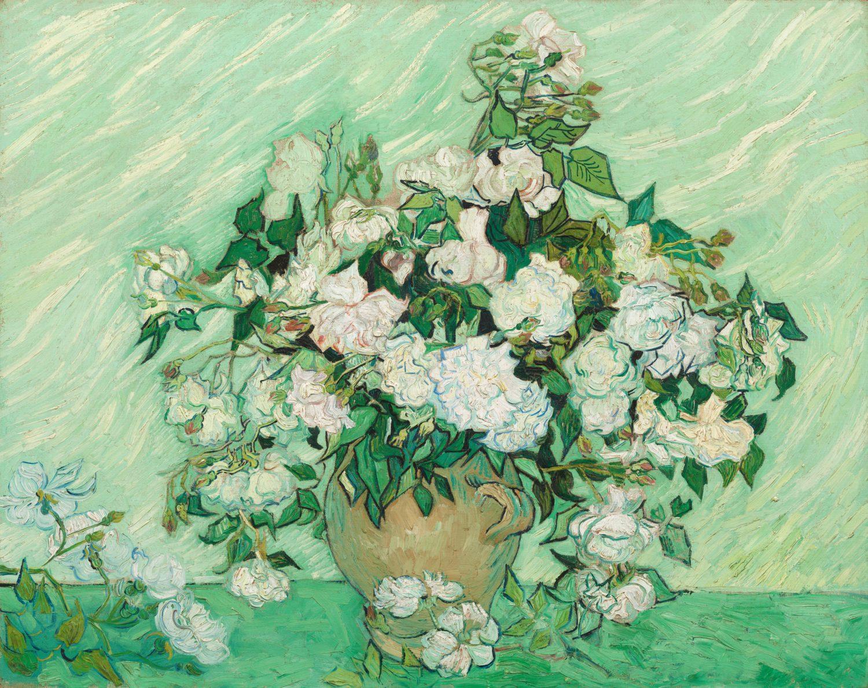 Roses by Vincent van Gogh, 1890