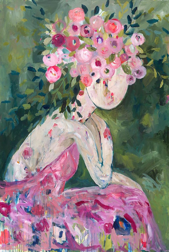 She Became a Rose by Carrie Schmitt | How Creative Acts Leads to Better Art and Living | Artists Network