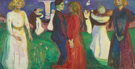 The Dance of Life by Edvard Munch, 1925; oil on canvas | Article written by Jerry N Weiss for Artists Magazine