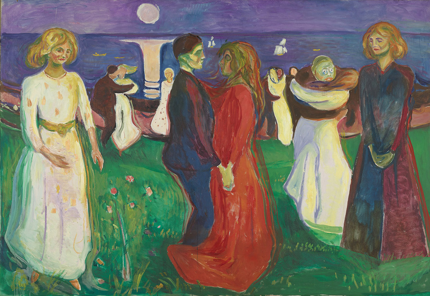 The Dance of Life by Edvard Munch, 1925; oil on canvas   Article written by Jerry N Weiss for Artists Magazine