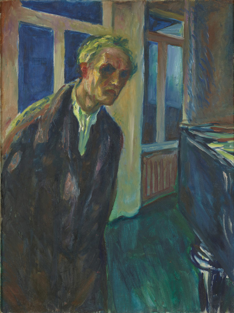 The Night Wanderer by Edvard Munch, 1923-24; oil on canvas | Article written by Jerry N Weiss for Artists Magazine