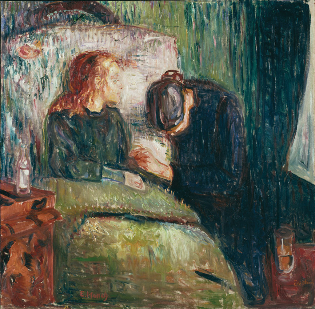 The Sick Child by Edvard Munch, 1907; oil on canvas | Article written by Jerry N Weiss for Artists Magazine