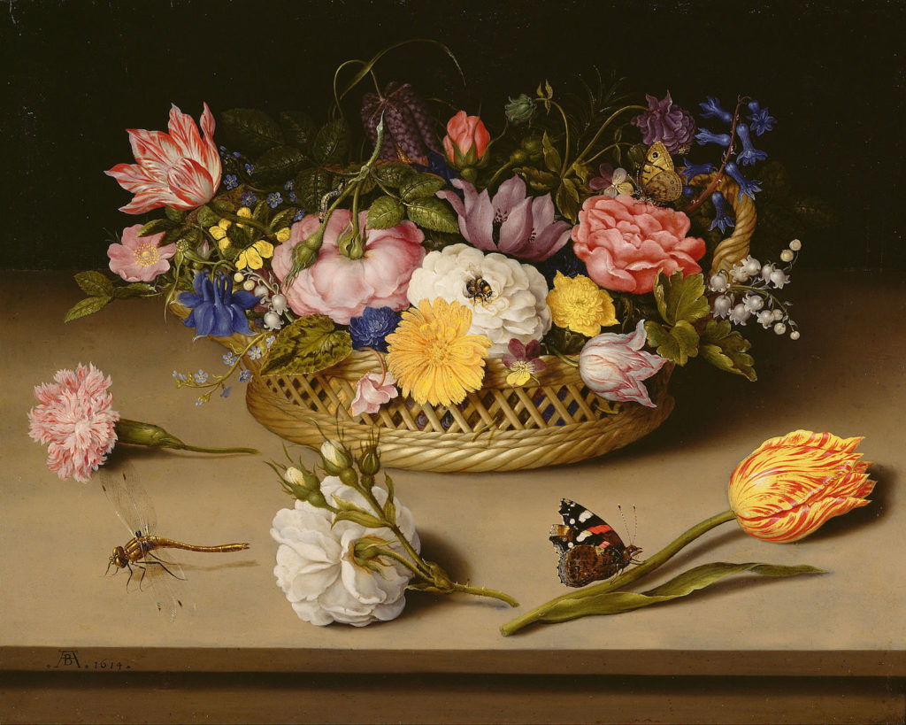 Flower Still Life by Ambrosius Bosschaert the Elder | Floral Art Prompts and Tips | Artists Network