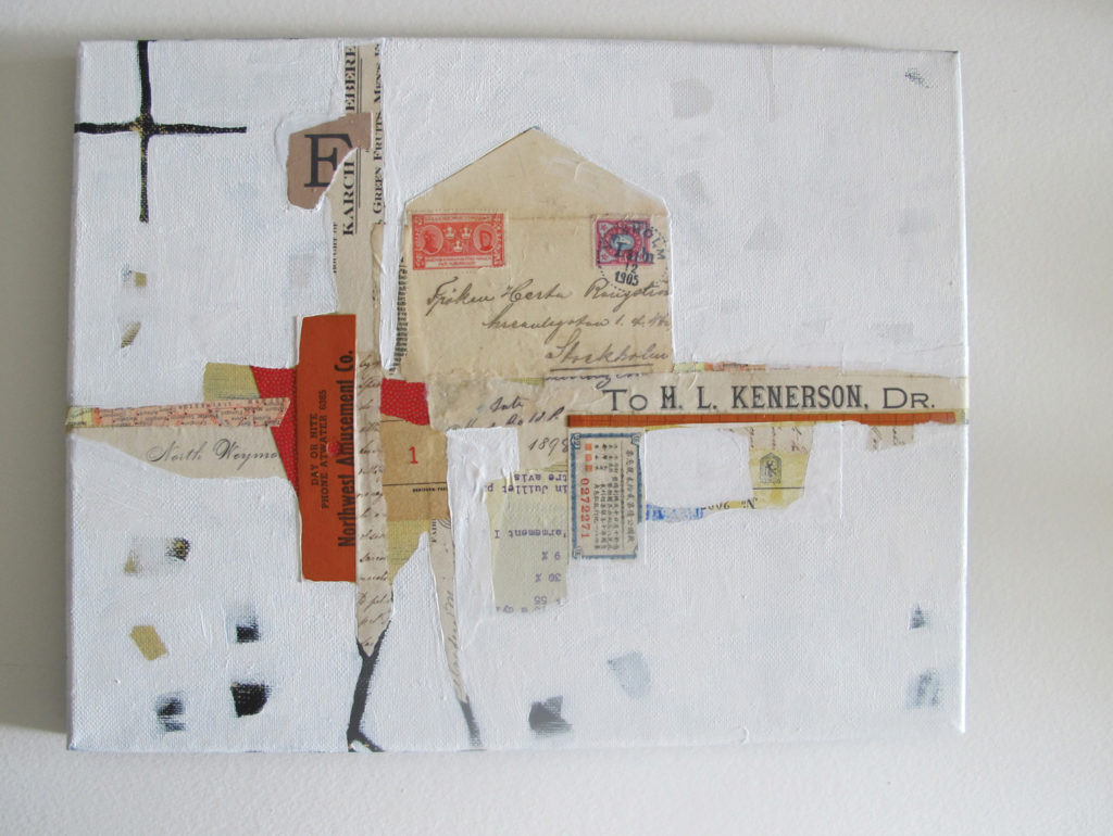 How to Create a Collage Landscape with Chris Cozen, Figure 5 | Artists Network