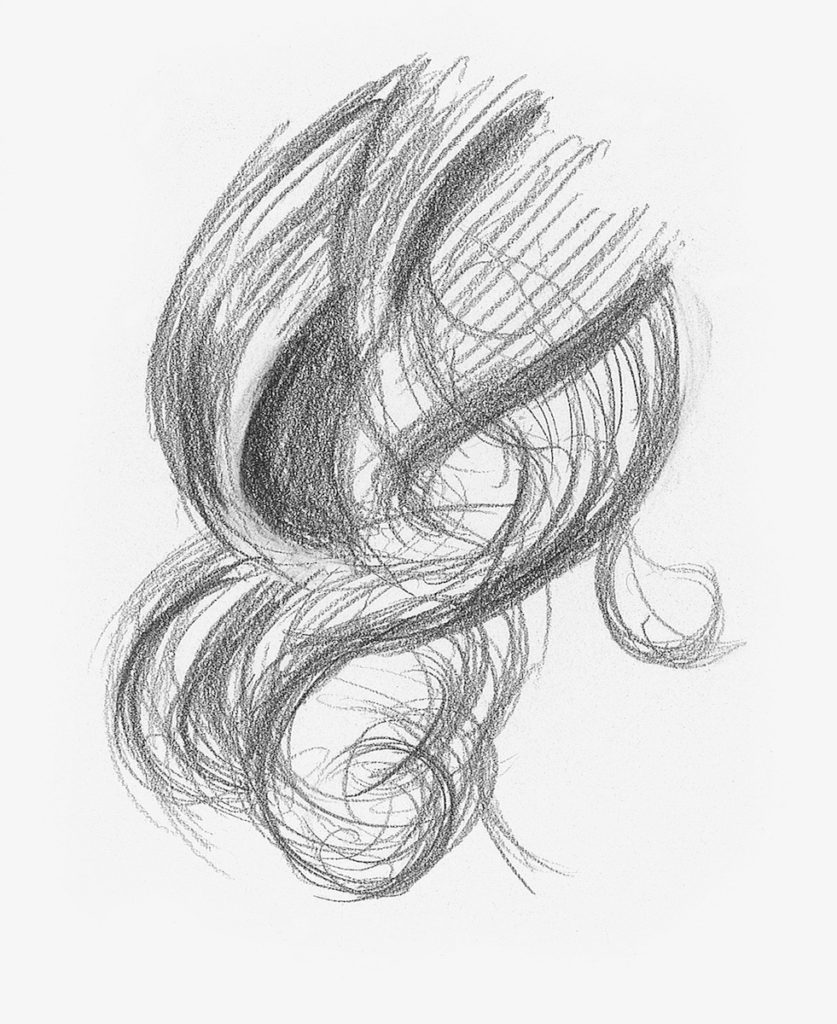 Curly hair demo step 2 lee hammond drawing hair for beginners in graphite