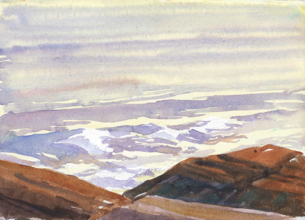 Morning Light by Catherine Gill | Techniques for Painting Outdoors, How to Paint the Earth, Sky and Sea in Landscapes | Watercolor Artist, Artists Network