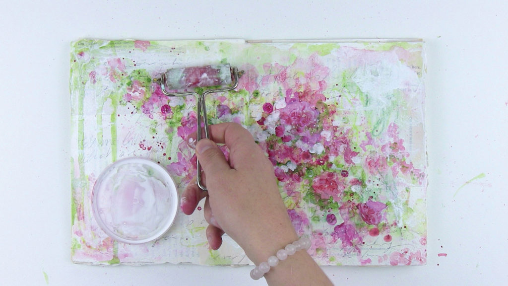 How to Paint Abstract Flowers with Laly Mille, Figure 10 | Artists Network