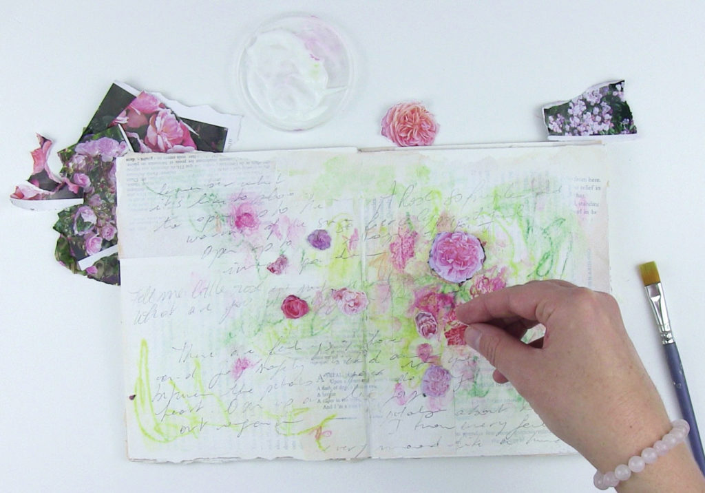 How to Paint Abstract Flowers with Laly Mille, Figure 5 | Artists Network