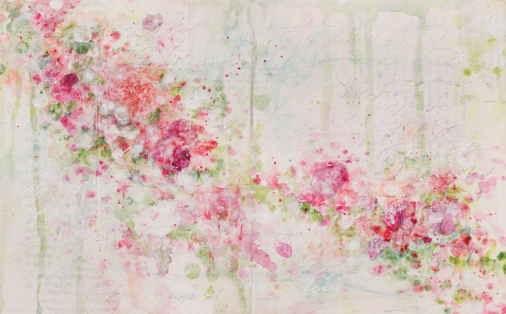 Abstract Flowers by Laly Mille | Artists Network