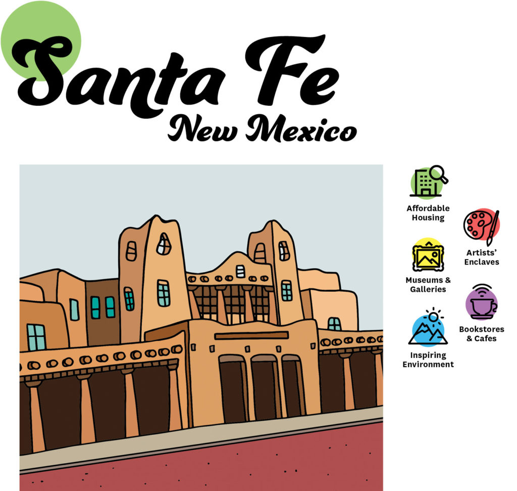 Art Cities: Santa Fe