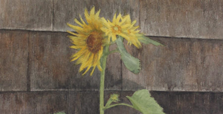 Wildflowers by Mario Robinson (detail) | How to Paint a Wild Sunflower | Artists Network