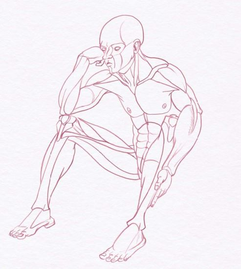 male art model poses for life and figure drawing demos rh artistsnetwork com