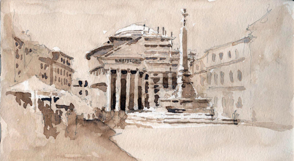 Pantheon exterior by Stephen Harby