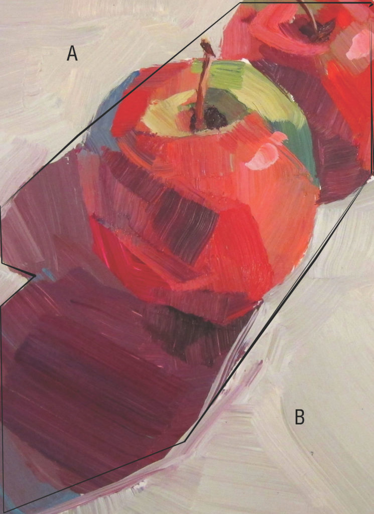 Good crop composition example by Patti Mollica | Painting Composition Tips for Beginners | Artists Network