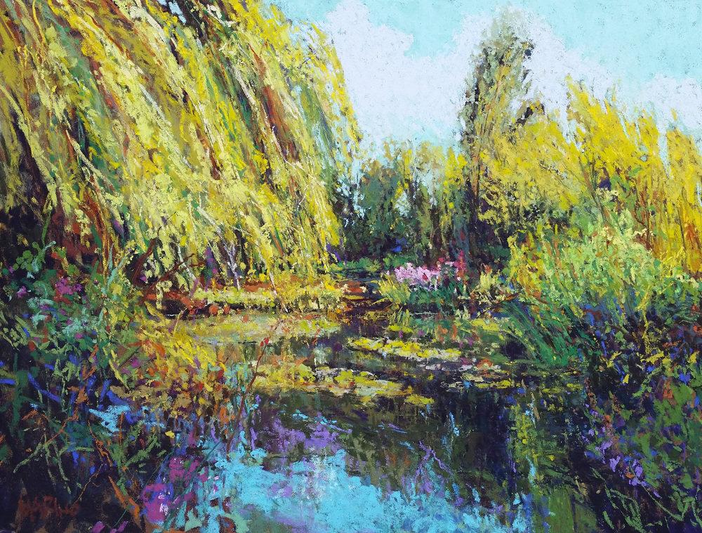 Maria Marino impressionist painting demo