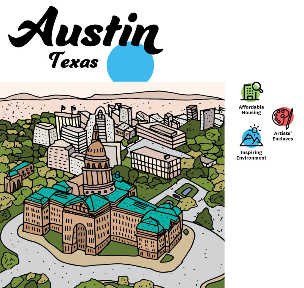 Art Cities USA: Austin, Texas
