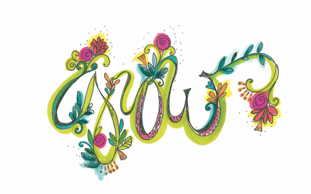 Creative Cursive |10 Hand Lettering Techniques with an Artful Spin by Joanne Sharpe | Artists Network