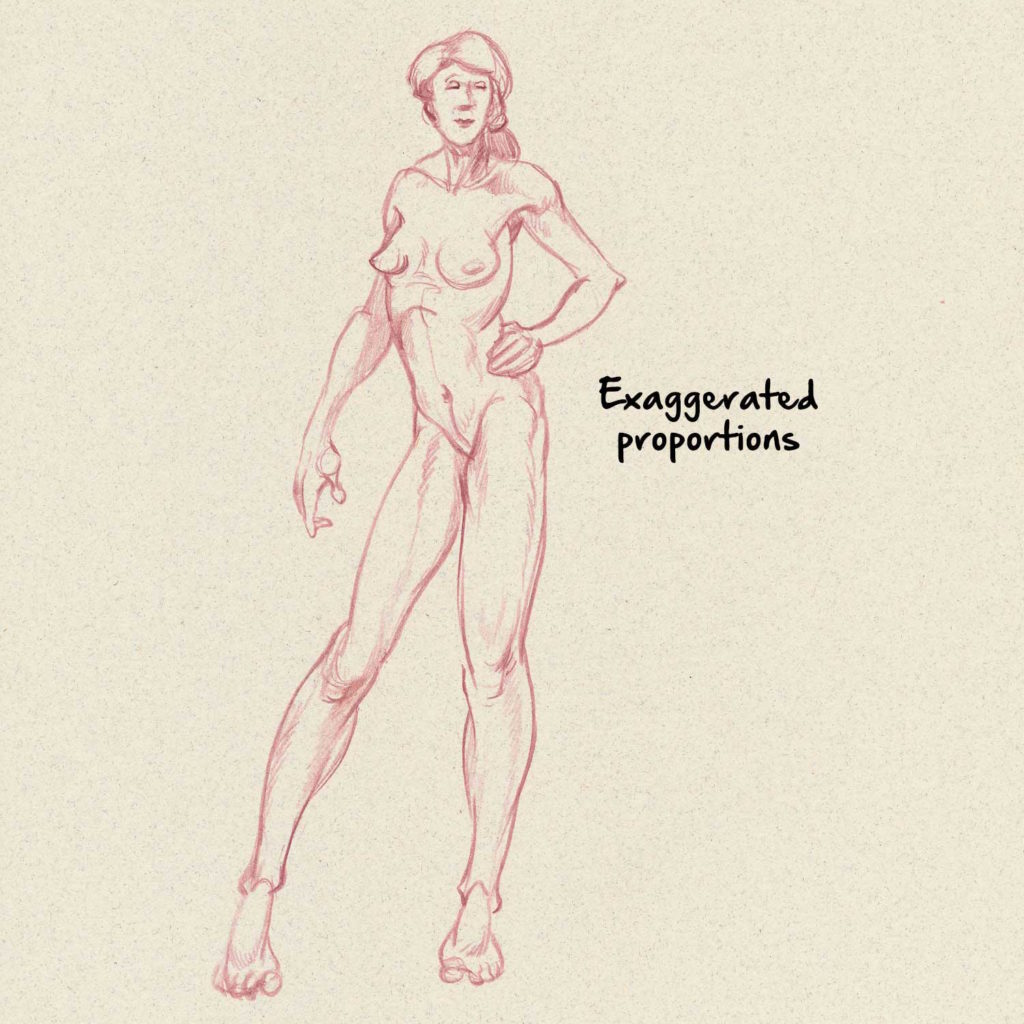 Proportions drawing anatomy for beginners top 5 dos and donts by jeff