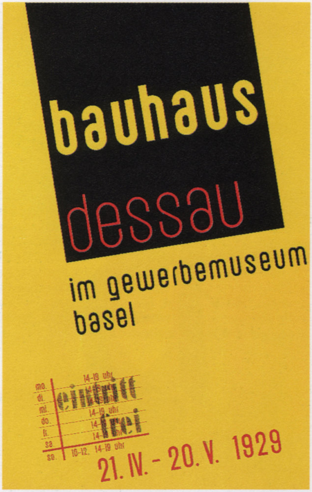 Poster from a 1929 exhibition in Basel, Switzerland. Fine Art Images/Heritage Images/Getty Images
