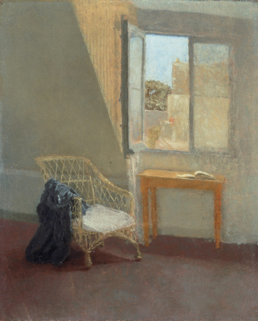 A Corner of the Artist's Room in Paris by Gwen John | Learning Linear Perspective with Patrick Connors | Artists Network