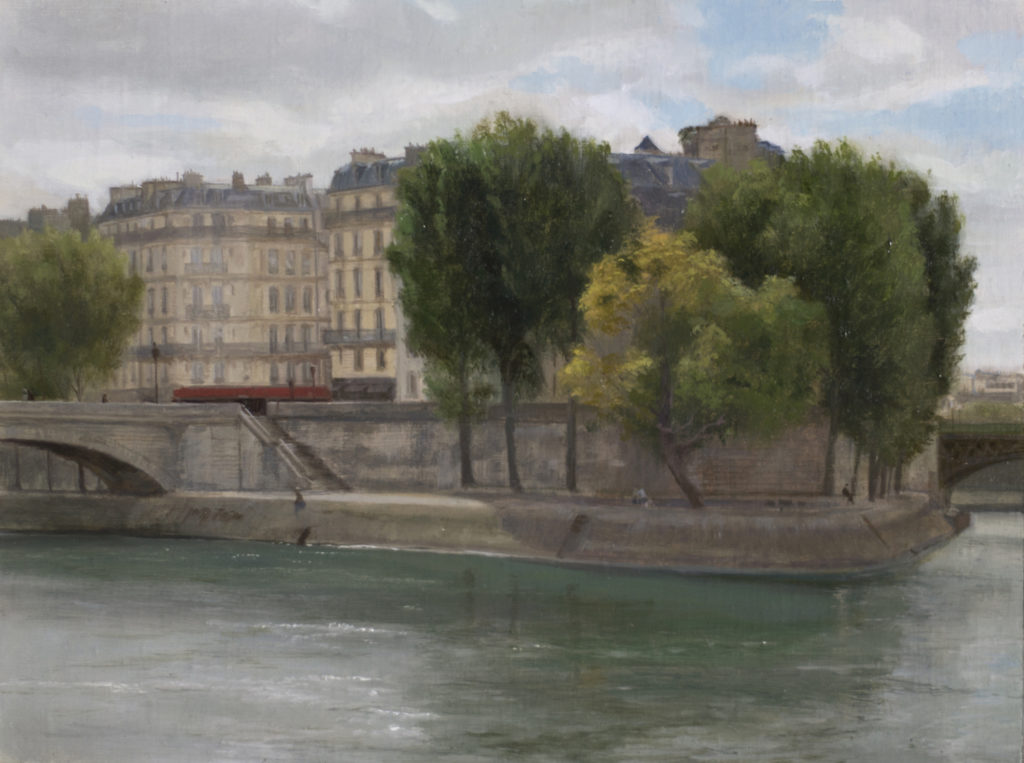 Ile Saint-Louis by Joshua LaRock | Artist HQ | Artists Network