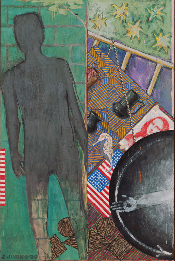 Summer 1985; encaustic on canvas, 75 x 50. THE MUSEUM OF MODERN ART, NEW YORK/SCALA, FLORENCE. ART ©JASPER JOHNS/LICENSED BY VAGA, NEW YORK, NY