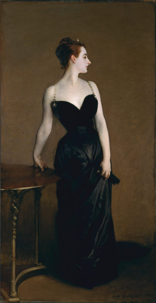 Madame X by John singer Sargent | Learn All About Pentimento -- Repainting Your Art | Artists Network